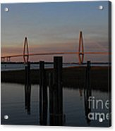 Ravenel From The Dock Acrylic Print