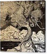 Ravenlight Tree Acrylic Print