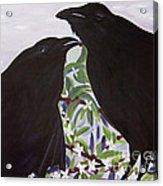 Ravens Song Acrylic Print
