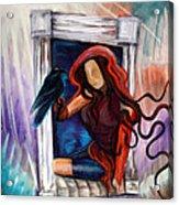 Raven's Wish Acrylic Print