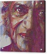 Ravi Shankar- Rabinda Shankar Chowdhury Acrylic Print