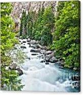 ravine in Verney Dora Acrylic Print
