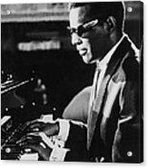 Ray Charles At The Piano Acrylic Print