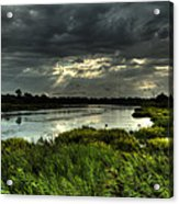 Lake Worth Sunlight Acrylic Print