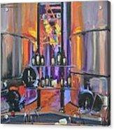 Raymond Vineyards Crystal Cellar II Acrylic Print by Donna Tuten