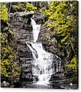 Raymondskill Falls In Milford Pa Acrylic Print