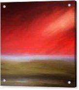Rays Of Grandeur Acrylic Print