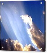 Rays Of Light Acrylic Print by Jose Lopez