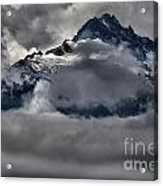 Rays Of Light On The Glaciers Acrylic Print