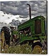 Ray's Old Popping Johnnie Acrylic Print by Mamie Thornbrue