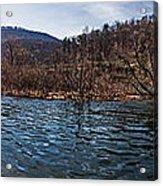 The Dam At Raystown Lake Acrylic Print