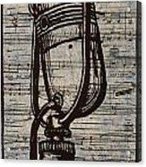 Rca 77 On Music Acrylic Print