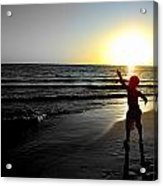 Reach For Your Dreams 2 Of 4 Acrylic Print