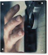Reaching For A Gun Acrylic Print by Edward Fielding