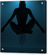 Reaching Nirvana.. Acrylic Print by Nina Stavlund