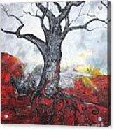 Read My Bark Acrylic Print