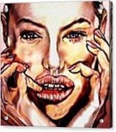Read My Lips Acrylic Print
