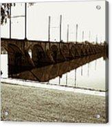 Cumberland Valley Railroad Bridge Acrylic Print