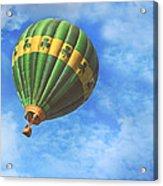 Readington Balloon Fest Media Launch 30 Acrylic Print by Pat Abbott