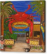Ready For The Day At The Crab Shack Acrylic Print