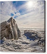 Ready To Let Loose Ice Formation Acrylic Print