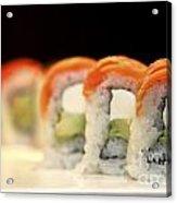 Ready To Serve Sushi  Acrylic Print