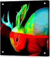 Reality's Jackalope Acrylic Print