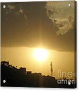 Really Beautiful Sunset Acrylic Print