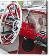 Really Red 1959 Lincoln Interior Acrylic Print
