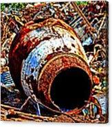 Really Rusty Acrylic Print