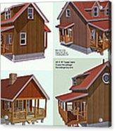 Realm Gallery Cabin Designs Acrylic Print