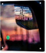 Rear View Landscape Acrylic Print