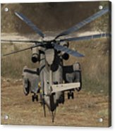 Rear View Of An Israeli Air Force Ch-53 Acrylic Print