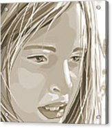 Rebecca Acrylic Print