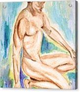 Rebirth Of Apollo Acrylic Print