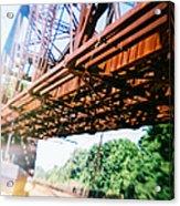 Recesky - Whitford Railroad Bridge Acrylic Print