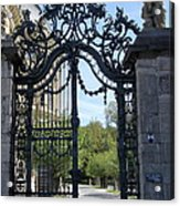 Recidence Garden Gate - Wuerzburg Acrylic Print