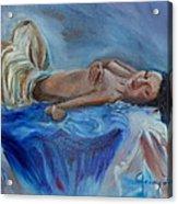 Reclining Beauty 111 Acrylic Print
