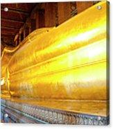 Reclining Buddha, Wat Pho Acrylic Print