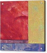 Rectangles - Abstract -art  Acrylic Print