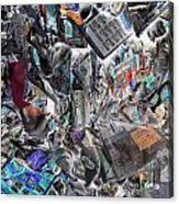 Recycling  5 Acrylic Print