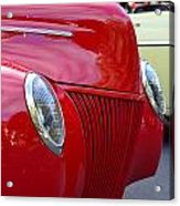 Red 40 Ford Acrylic Print
