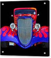 Red And Blue Custom Acrylic Print
