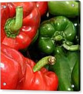 Red And Green Peppers I Phone Case Acrylic Print