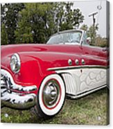 Red And White Classic Acrylic Print