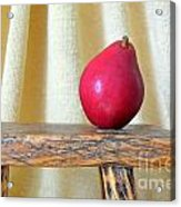Red Anjou Pear Acrylic Print