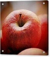 Red apple Acrylic Print