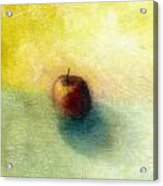 Red Apple No. 4 Acrylic Print