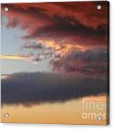 Red Arizona Sky Acrylic Print