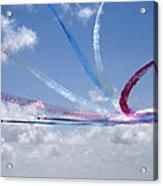 Red Arrows Aerobatic Display Team Acrylic Print